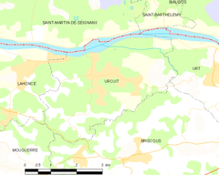 Map commune FR insee code 64540.png