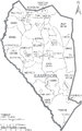 Map of Sampson County North Carolina With Municipal and Township Labels.PNG