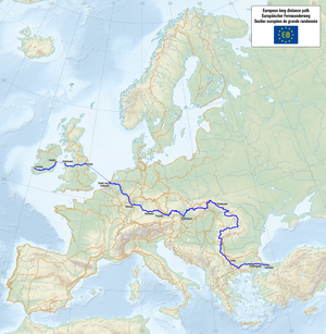 Bieszczady National Park - European walking route E8