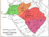 Map of the Plains and Sierra Miwok territories (colored).png