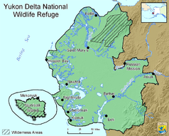 Map of the Yukon Delta National Wildlife Refuge.png