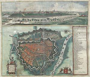 History of Gdańsk - Gdańsk in 1687