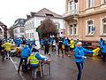 Marathon Freiburg in der Wallstraße mit Wasserverpflegung.jpg