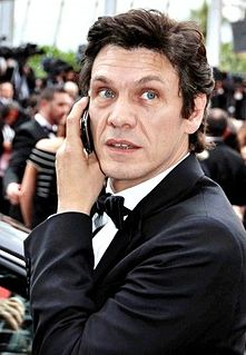 Marc Lavoine French singer and actor