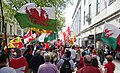 March for Welsh Independence arranged by AUOB Cymru First national march; Wales, Europe 24.jpg