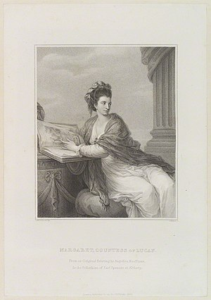 Margaret Bingham - Margaret Bingham (née Smith), Countess of Lucan, 1820