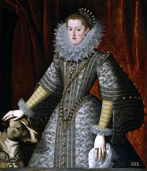 Margaret of austria 1609