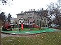 Margareta playground. - Margaréta street, Budapest District XII.JPG
