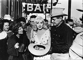 Marilyn Monroe Et Clark Gable