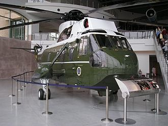 Marine One - A former Marine One at the Ronald Reagan Presidential Library