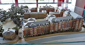 University of St Mark & St John - A model of the Chelsea Campus