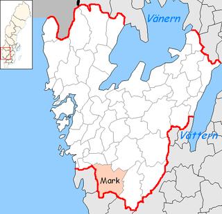 Mark Municipality Municipality in Västra Götaland County, Sweden