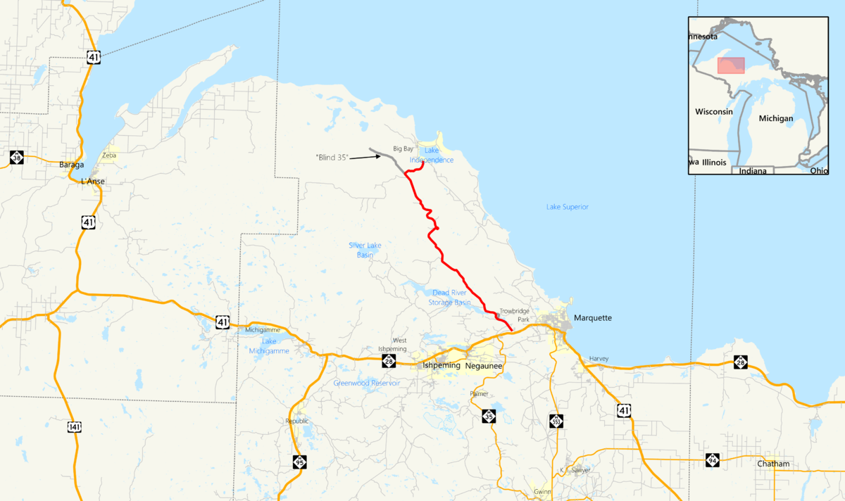 County Road 510 Marquette County Michigan  Wikipedia