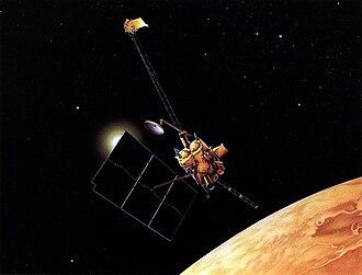 Mars Observer - Image: Mars Observer 2
