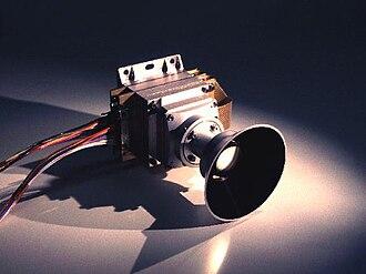 Mars Polar Lander - Image: Mars Polar Lander MARDI instrument photo mardi