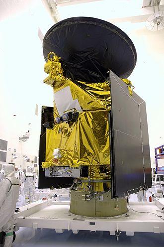 Multi-layer insulation - The golden areas are MLI blankets on the Mars Reconnaissance Orbiter