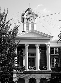 Marshall County Courthouse i Holly Springs.