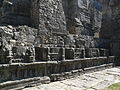 Martand Sun Temple Central shrine surrounding pilastered wall (6134335168).jpg