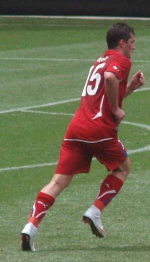 Martin Fenin - Fenin playing for the Czech Republic