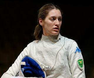 Martina Batini Foil fencer