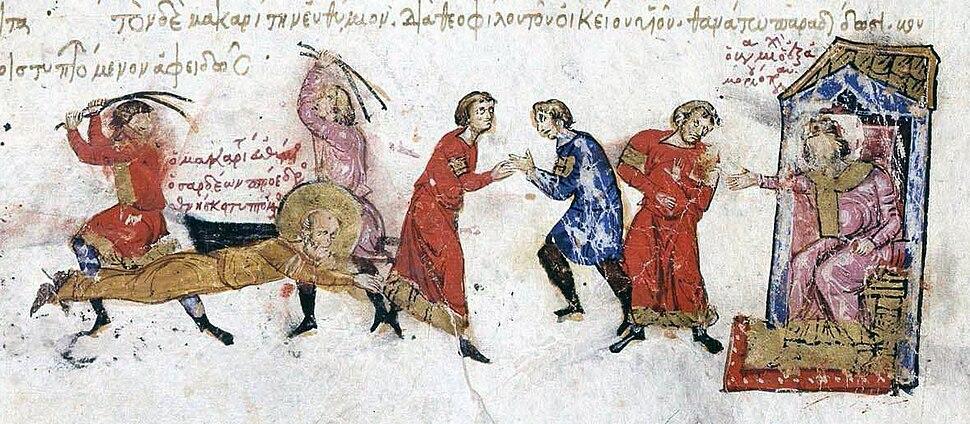 Martyrdom of Euthymius of Sardeis