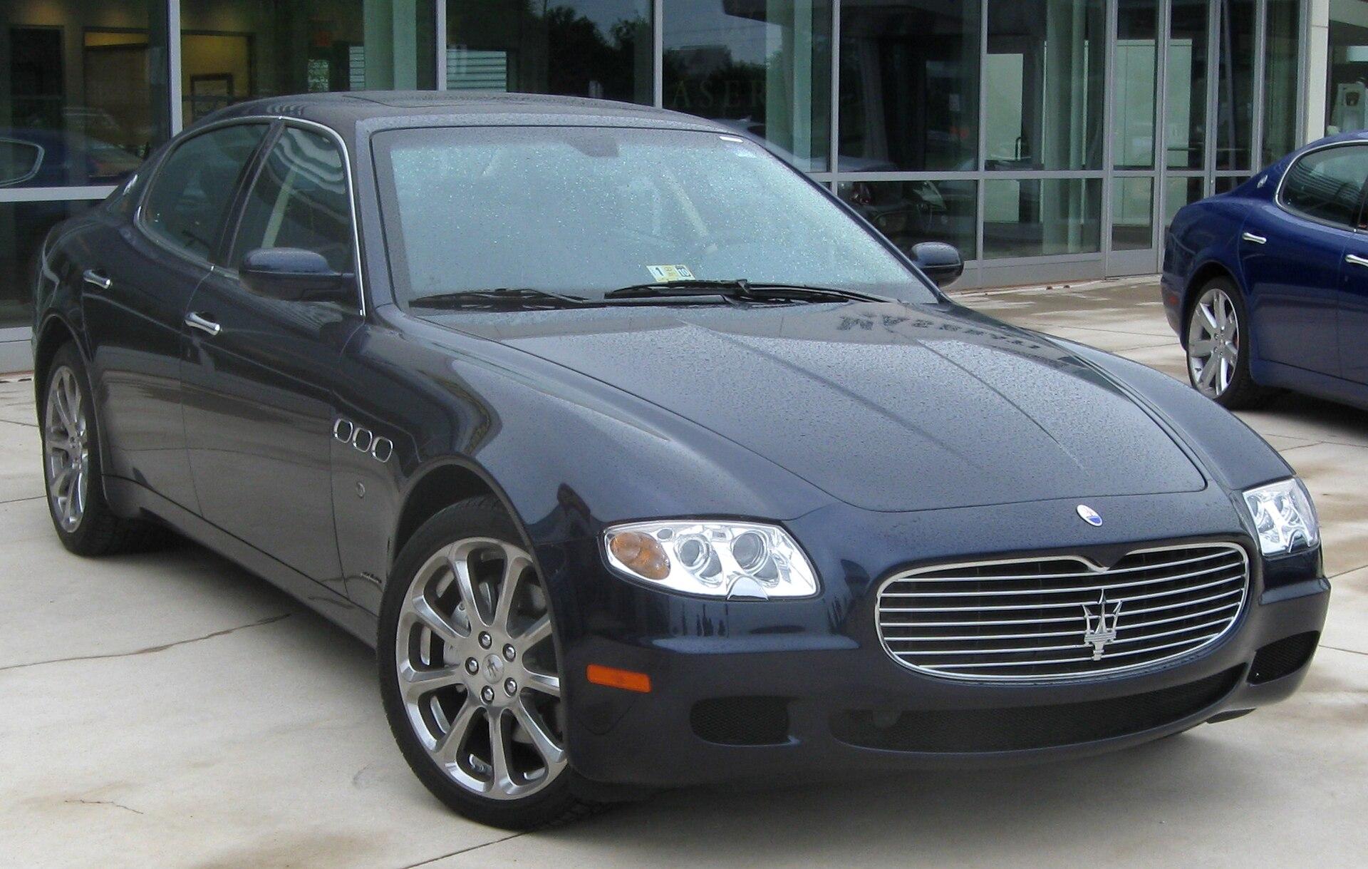 Maserati Quattroporte (2003)
