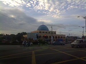 Kuala Pilah (town) - Kuala Pilah mosque is the largest in town