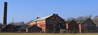 Pennsylvania Match Company - The abandoned Match Factory prior to the APS purchase