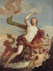 Amphitrite en Neptunus