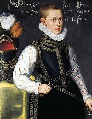 Maurice, Prince of Orange - Maurice as a child