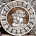 Quelle originally posted to Flickr as Mayan Zodiac Circle , Urheber theilr
