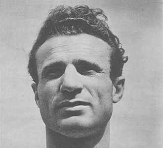 Venezia F.C. - A closeup of Valentino Mazzola.