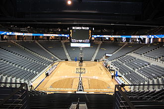 McCamish Pavilion - Interiors of the Hank McCamish Pavilion following renovations.