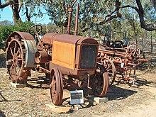 Vintage CASE International Harvester Tractor Empty Binder Service Parts Manual