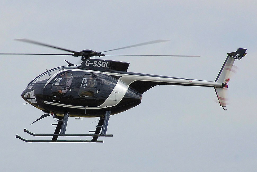 Md helicopters md-500e g-sscl arp