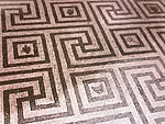 Meander mosaic floor in Herculaneum.jpg