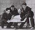 Members of Israeli Delegation to Armistice talks in Rhodes, January 1949.jpg