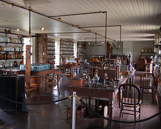 Thomas Edison - Edison's Menlo Park Laboratory, reconstructed at Greenfield Village at Henry Ford Museum in Dearborn, Michigan.