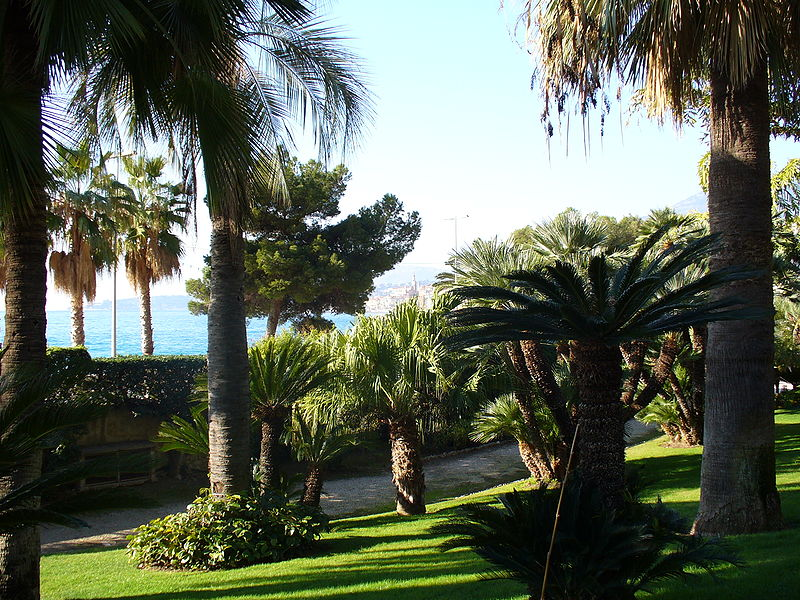 tourisme menton villa maria serena
