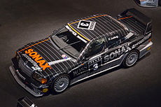 Mercedes-Benz 190E Evolution II DTM top Mercedes-Benz Museum.jpg