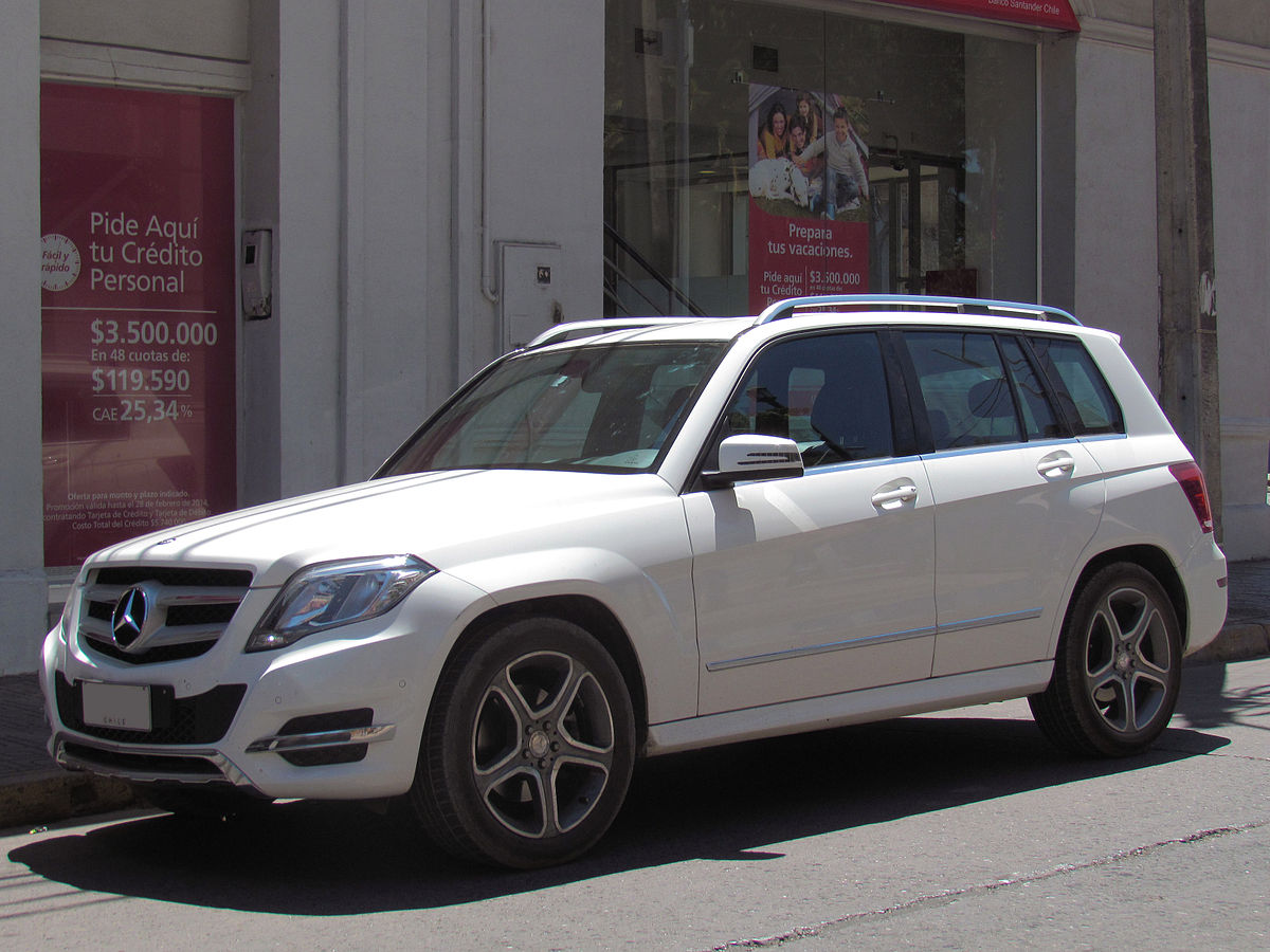 Mercedes benz classe glk wikip dia for Mercedes benz of cleveland