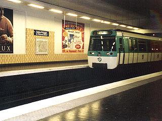Paris Métro station