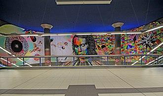 Paco de Lucía (Madrid Metro) - Interior.