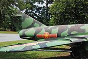 MiG 17 tail Vietnam