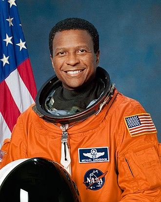 Michael P. Anderson - 1995 portrait