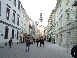 Michalská 3 april tower.jpg