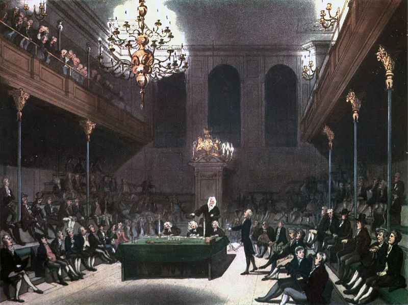 File:Microcosm of London Plate 021 - House of Commons (colour).jpg