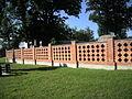 Mielec, cmentarz przy ul. Długosza - ogrodzenie.jpg