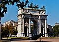 Milano Arco della Pace von Südost 6.jpg