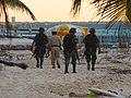 Military patrol in Playa Norte (4257552582).jpg